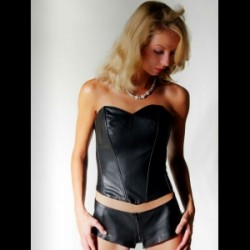 Bustier Juliane noir