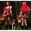 Chaperon Rouge avec cape